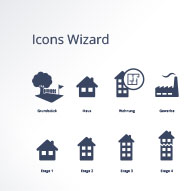 talocasa Wizard Iconset